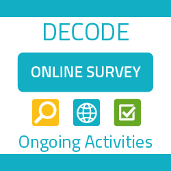 The DECODE project comparative survey: key characteristics